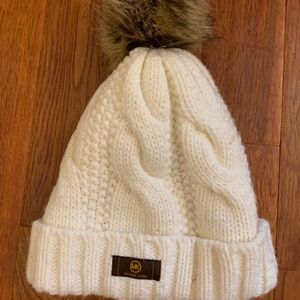 MK winter pom hat